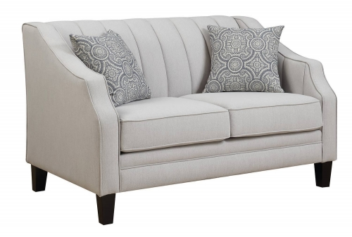 Loxley Loveseat - Grey
