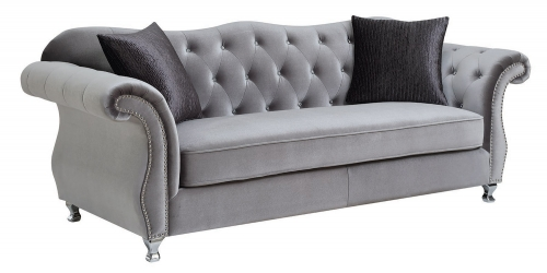 Frostine Sofa - Silver