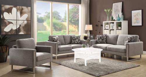 Stellan Sofa Set - Grey