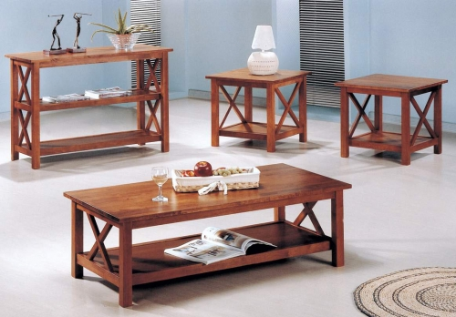Coaster Briarcliff 3 Piece Occasional Set - Brown