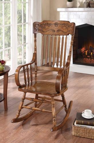 600175 Rocking Chair - Warm Brown