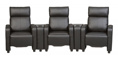 Toohey Home Theater Seating Set - Black