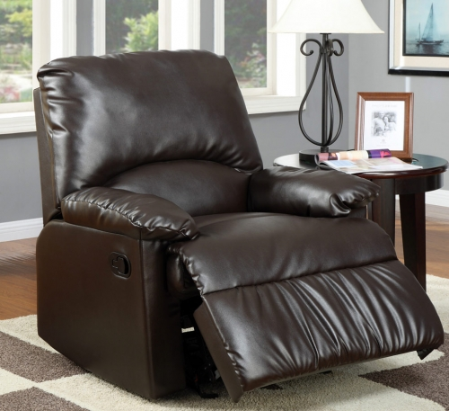 600270 Glider Recliner - Brown