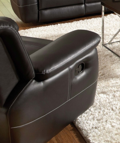 Lee Glider Recliner - Black