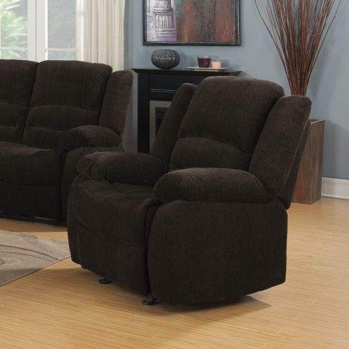 Gordon Recliner - Dark Brown