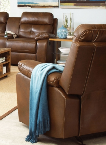 Damiano Recliner - Brown