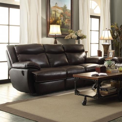 MacPherson Power Reclining Sofa - Cocoa Bean