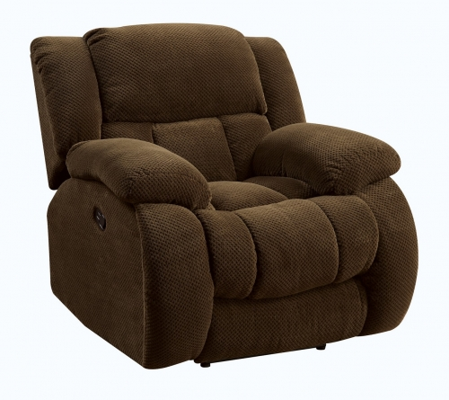 Weissman Glider Recliner - Brown