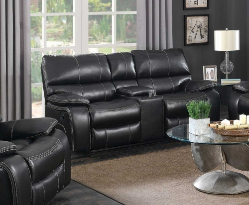 Willemse Motion Loveseat - Black
