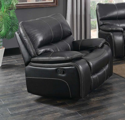 Willemse Glider Recliner - Black