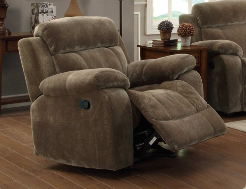 Myleene Glider Recliner - Brown