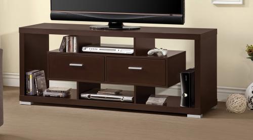 700112 TV Console - Cappuccino