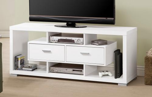 700113 TV Console - White