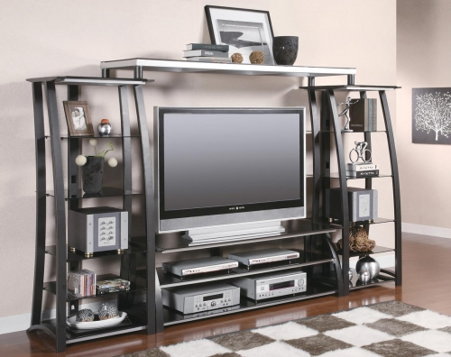 700681 Entertainment Wall Unit