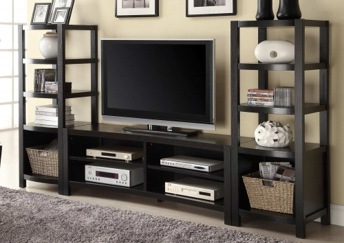 700697 Entertainment Wall Unit - Cappuccino