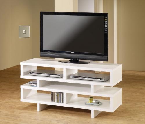 700721 TV Console - White