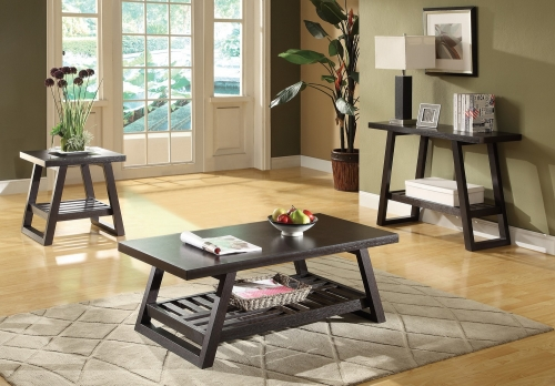 Coaster 701868 Coffee/Cocktail Table Set - Cappuccino