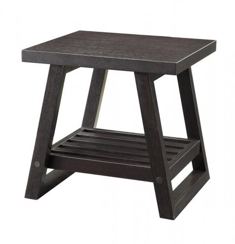 Coaster 701867 End Table - Cappuccino