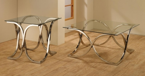 701918 Coffee Table Set - Chrome