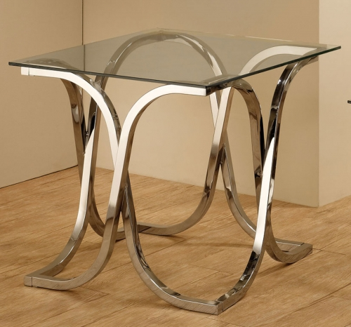 701917 End Table - Chrome