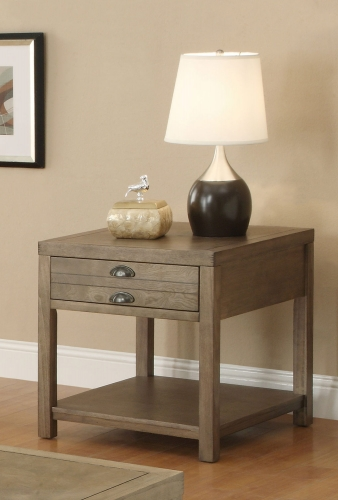 701957 End Table - Light Oak