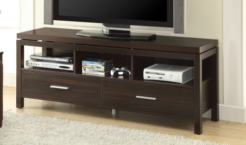 701971 TV Console - Dark Brown