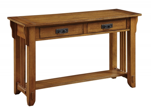 702009 Sofa Table - Warm Brown