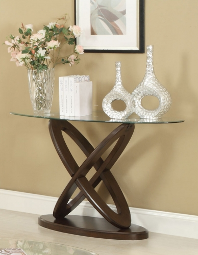 702789 Sofa Table - Espresso