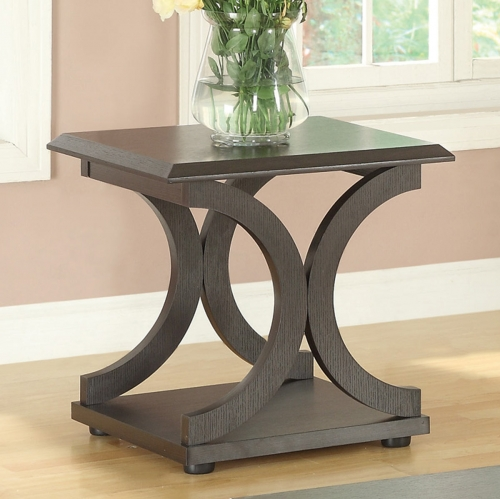 703147 End Table - Cappuccino