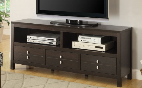 703311 TV Stand - Cappuccino