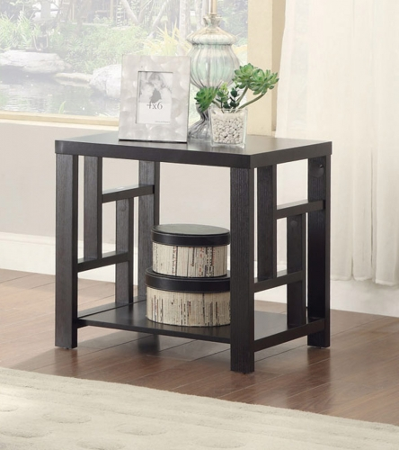 703537 End Table - Cappuccino
