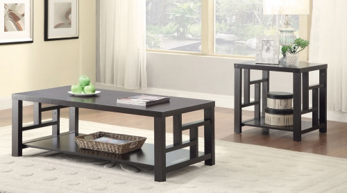 703538 Coffee Table Collection - Cappuccino