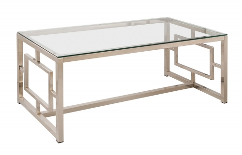 703738 Coffee/Cocktail Table - Nickel