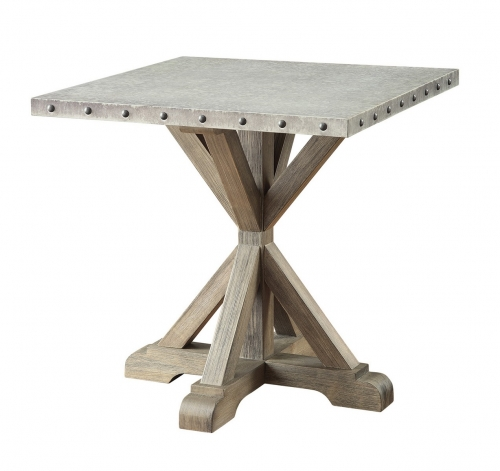 703747 End Table - Driftwood