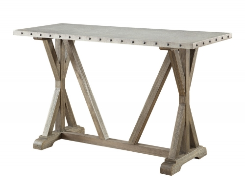 703749 Sofa Table - Driftwood