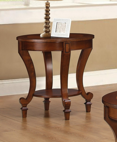704407 End Table - Warm Brown