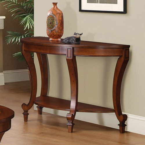 704409 Sofa Table - Warm Brown
