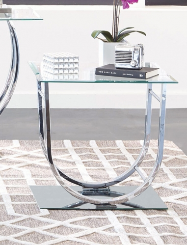 704987 End Table - Chrome