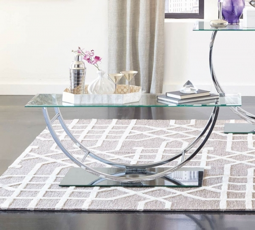 704988 Coffee Table - Chrome