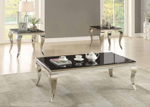 705018 Occasional/Coffee Table Set - Chrome