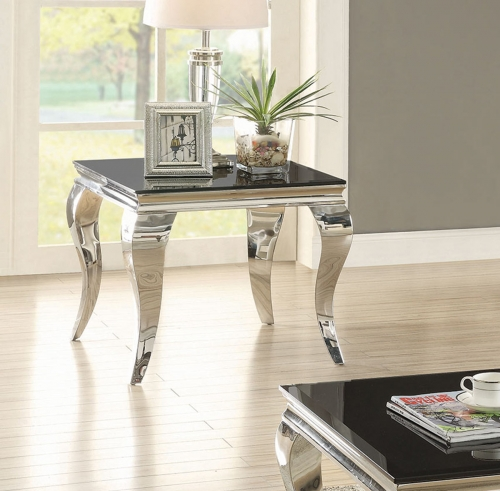 705017 End Table - Chrome