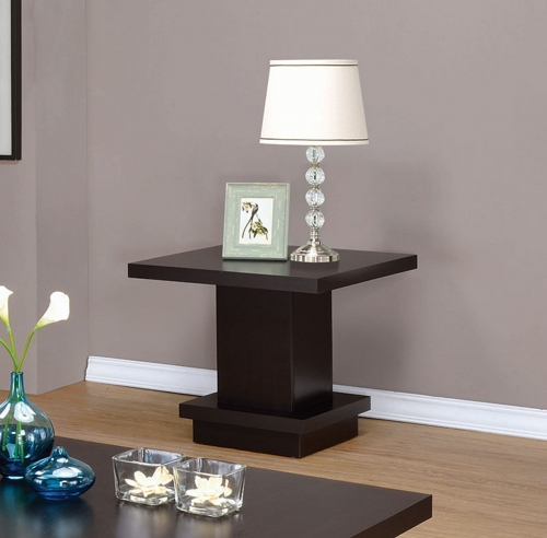 705167 End Table - Cappuccino