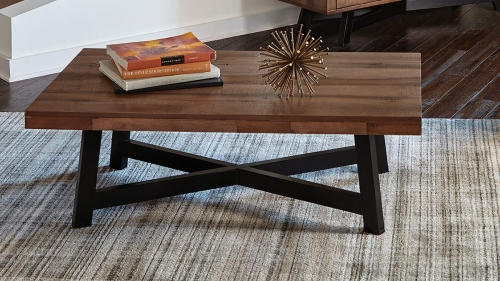 705498 Coffee Table - Naomi Ash/Black Sand-off