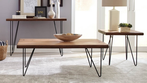 705667 Coffee Table Set - Natural Honey