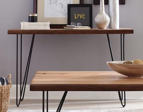 705669 Sofa Table - Natural Honey