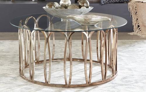 Hemet Coffee Table - Light Grey