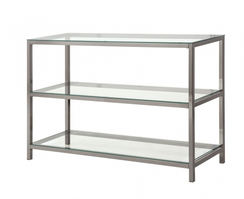 720229 Sofa Table - Black Nickel