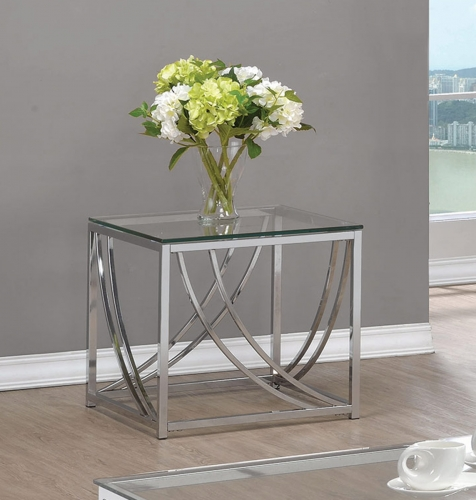 720497 End Table - Chrome