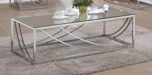 720499 Sofa Table - Chrome