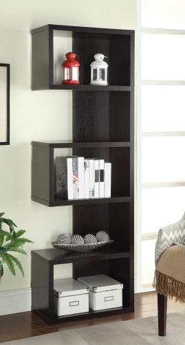 800069 Bookcase - Cappuccino